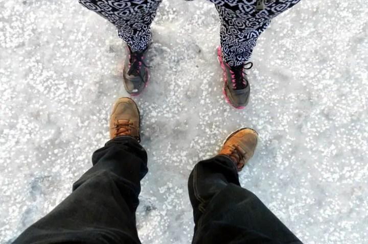 Gujarat_GreatRann_Feet - The colours of Kutch