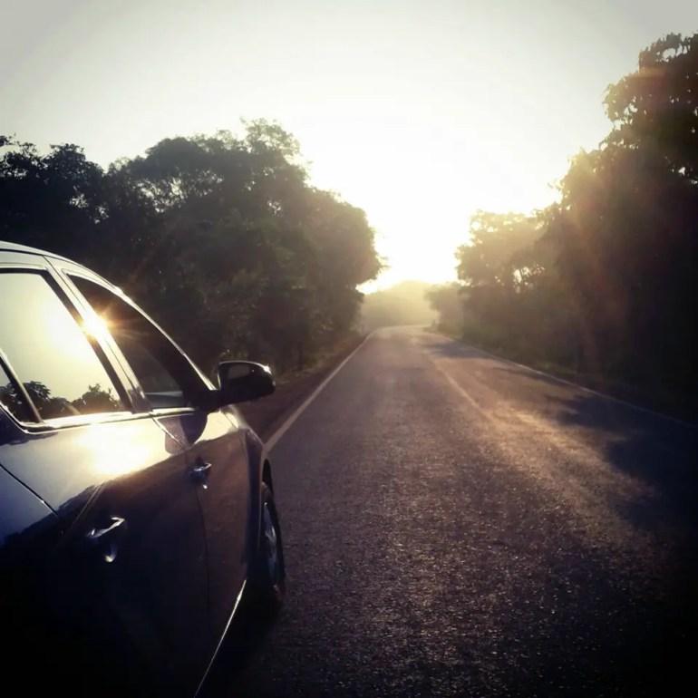 Chorla ghats sunset - An off-the-beaten-path Goan holiday