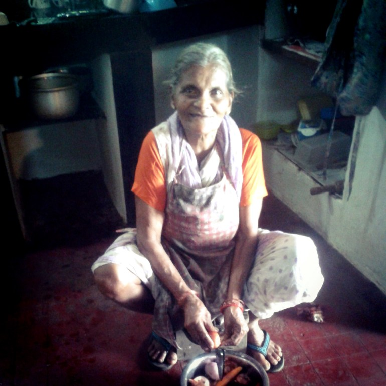 Chirpy housemaid at Cancio's House - An off-the-beaten-path Goan holiday