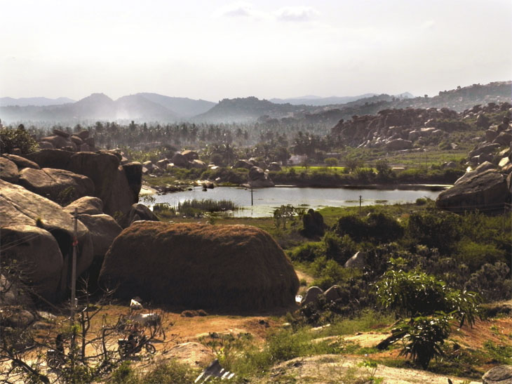 Hampi_ViewFromDurgaTemple - Magical sights of Hampi