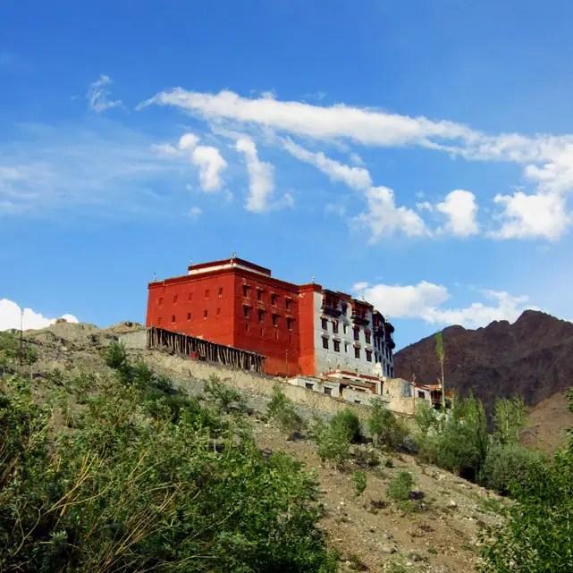 Leh - Hill monastery 1 - Eight things we learned in Ladakh