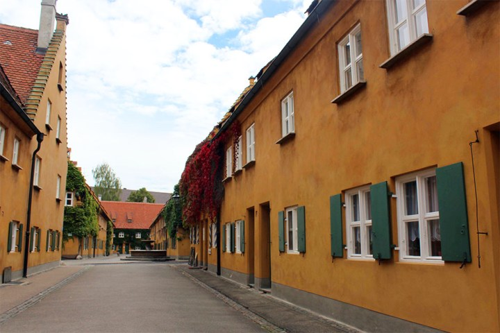 Augsburg - Fuggerei street