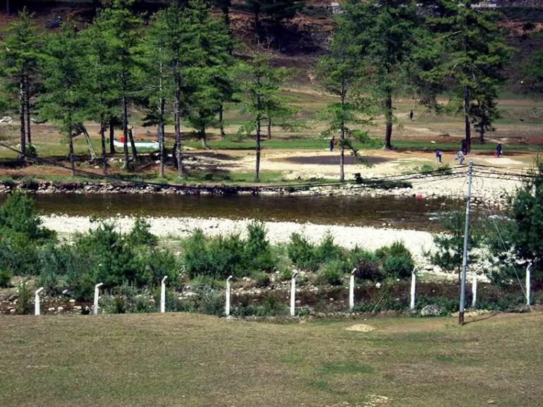 Bhutan - Haa river