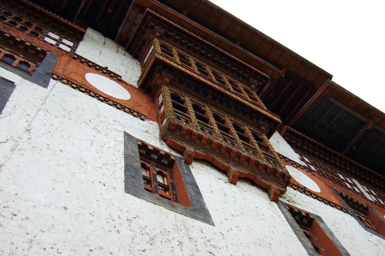 Bhutan - Punakha interior 1