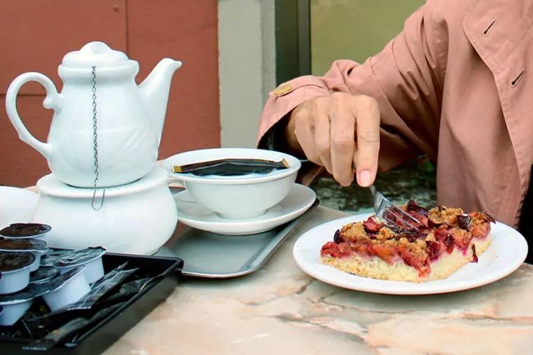 Dinkelsbuehl - cafe haagen
