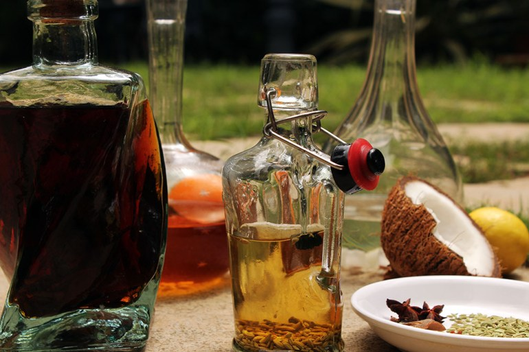 Infusions - all 2 - Four easy infusions with which to spice up your home bar
