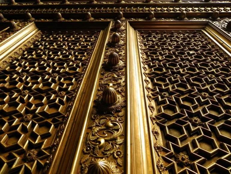 Jaipur - City Palace - Brass gate - Rajasthan