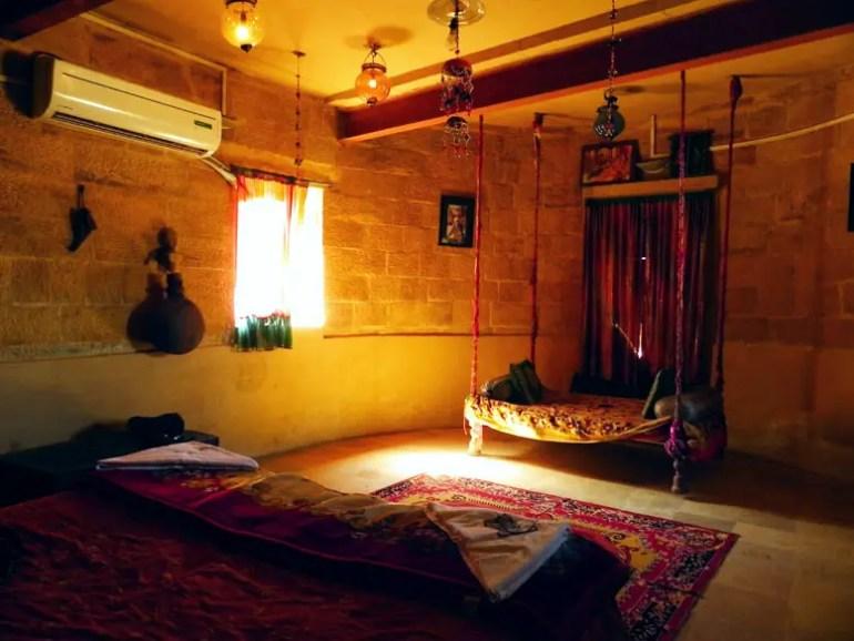 Jaisalmer - Hotel room