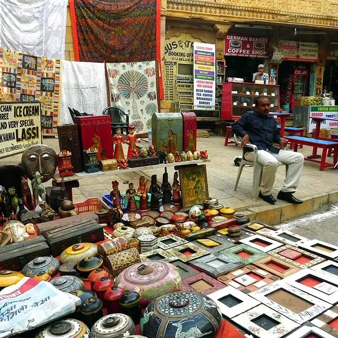 Jaisalmer - Souvenir shop