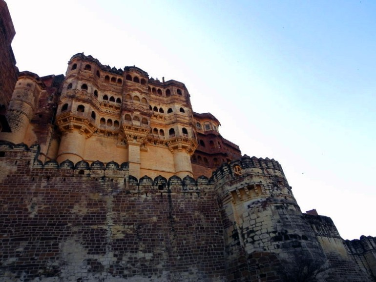 Mehrangarh - Internal fortifications