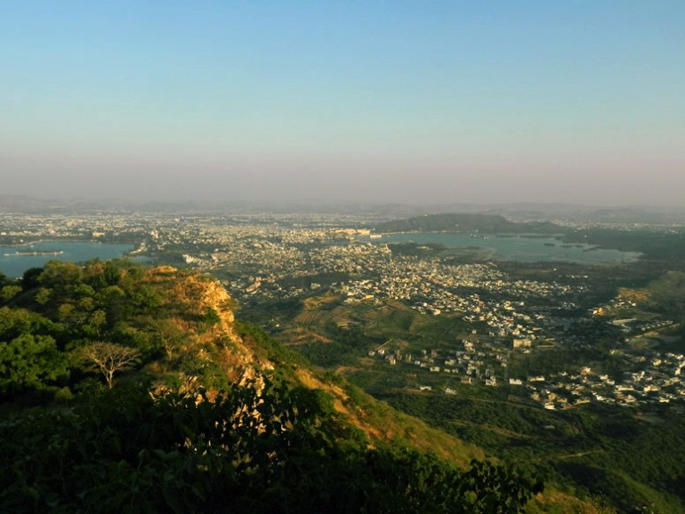 Udaipur - Sajjangarh view - Eight great reasons why you should visit Rajasthan, 'land of kings'