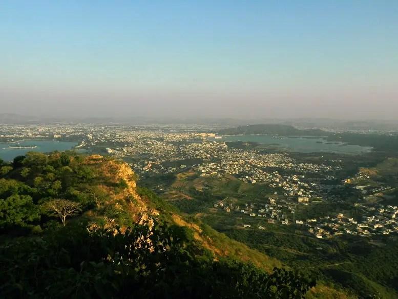 Udaipur - Sajjangarh view - Eight great reasons why you should visit Rajasthan, 'land of kings'