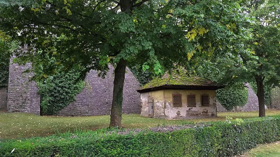 Wuerzburg - Castle cottage