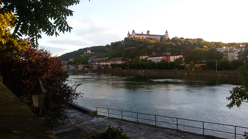 Marienberg fortress in Wuerzburg, romantic road, Germany - top 10 posts