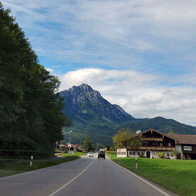 Towards the mountains - Ainring, Salzburg and the Jenner: A road trip through Germany, and other ways to pass the time (Part 5)