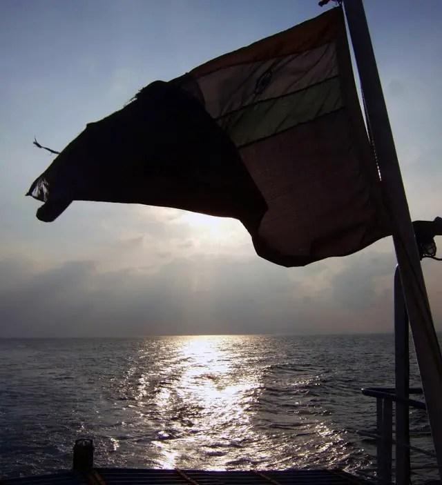 Andamans-Havelock-Ferry ride