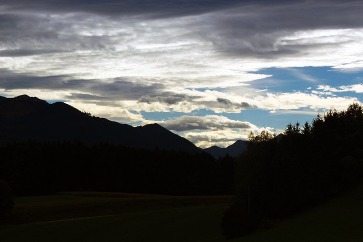 Silhouette of the Alps - Ainring, Salzburg and the Jenner: A road trip through Germany, and other ways to pass the time (Part 5)