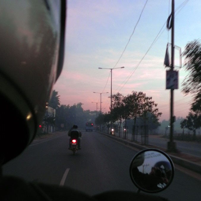 Ghatkesar, Hyderabad, India - Epic motorcycle ride along India's east coast