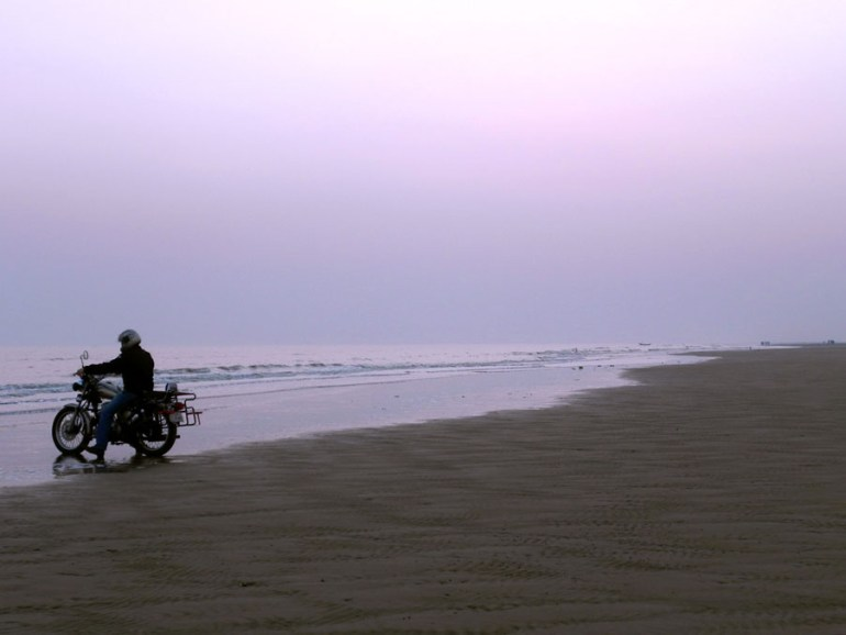 Beach at Mandarmoni, West Bengal, India - travel photos