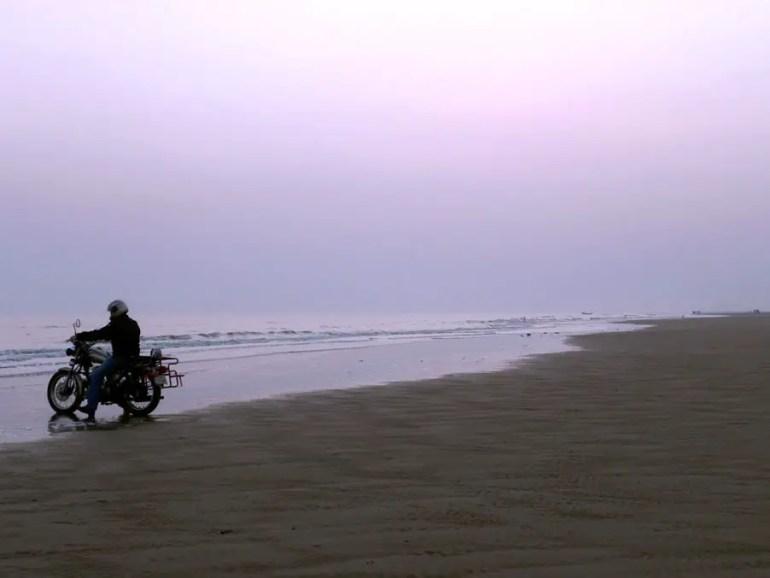 Beach at Mandarmoni, West Bengal, India - travel photos
