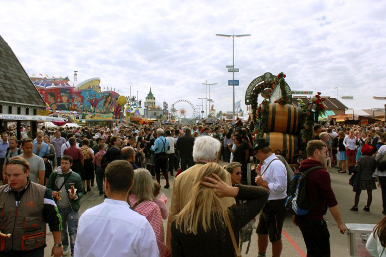 Munich - Okotberfest crowd - Munich and the Oktoberfest: Part 6 of A road trip through Germany, and other ways to pass the time