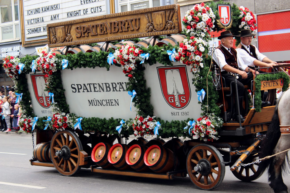 Munich - Parade brewery cart - Munich and the Oktoberfest: Part 6 of A road trip through Germany, and other ways to pass the time