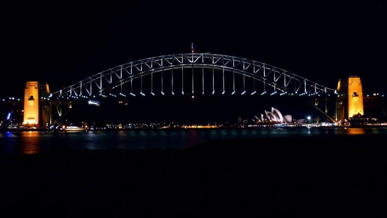 Sydney - Brigde night