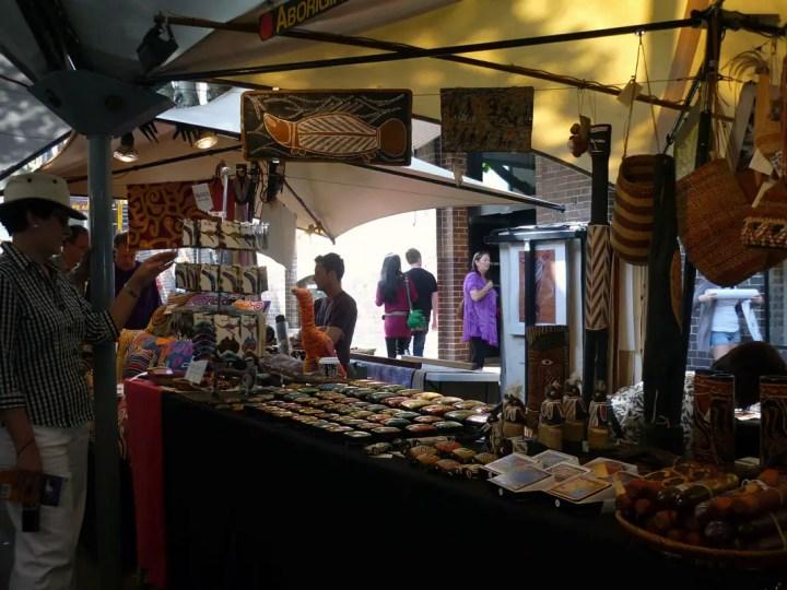 Sydney - Market stall