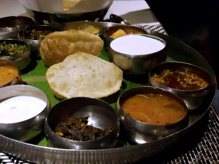 Vegetarianism - Thali