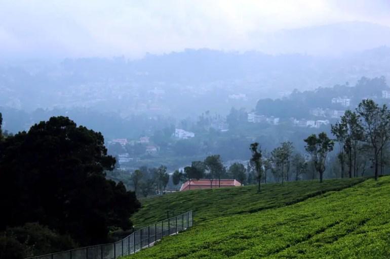 Coonoor - Great escape - View of Coonoor