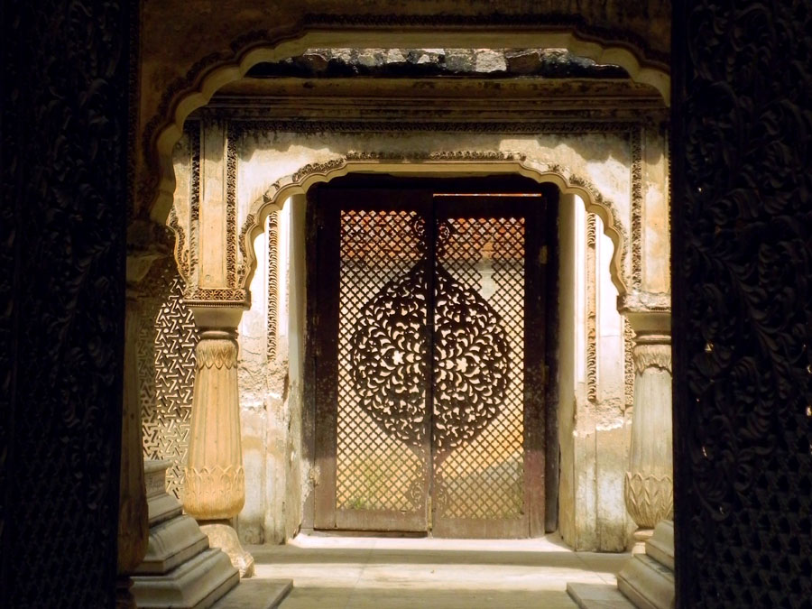Paigah Tombs - Lattice door