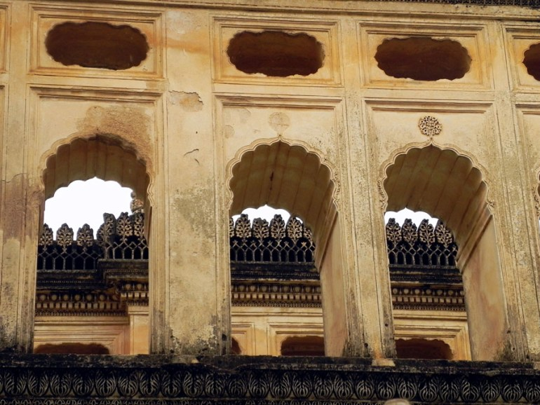 Paigah Tombs - Row of arches