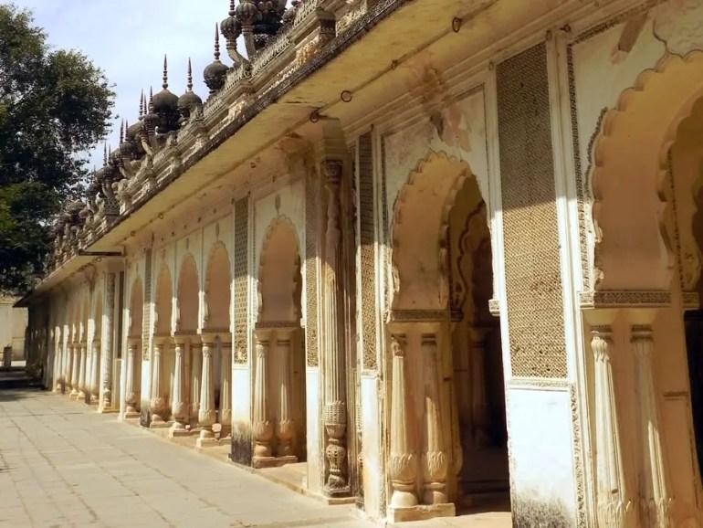 Paigah Tombs - Walkway