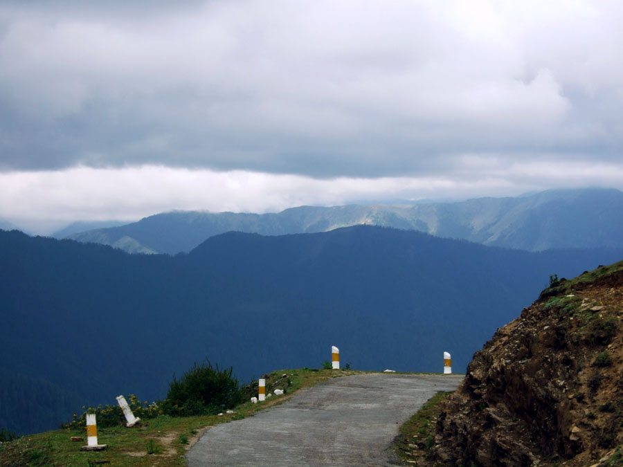 Bhutan - Chele La pass - mountain holiday destinations in India