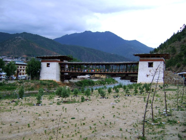 Bhutan - Market bridge - mountain holiday destinations in India