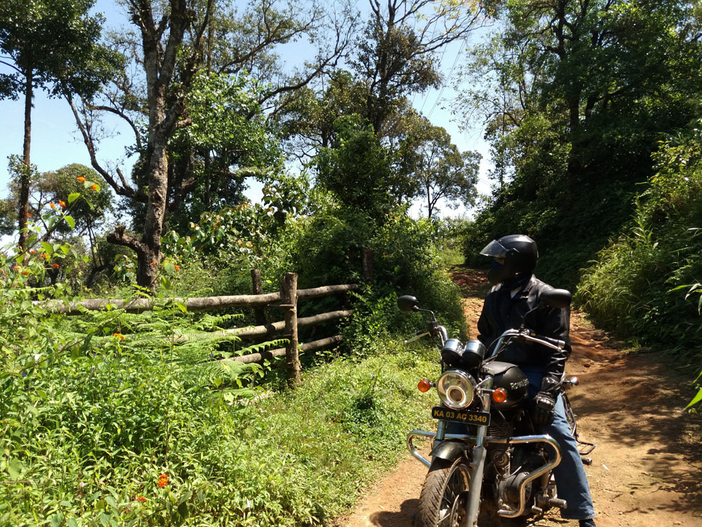 Coorg - Taj GPS - Fence