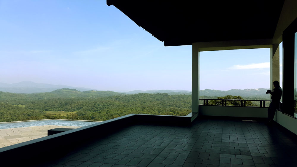 View from the lobby of the Taj resort -  - Coorg travel guide