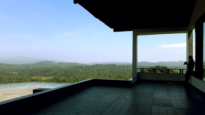View from the lobby of the Taj resort - What to do in Coorg