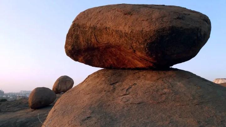 The surreal rocks of Fakhruddingutta in Hyderabad