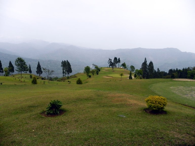 Kalimpong -Golf course