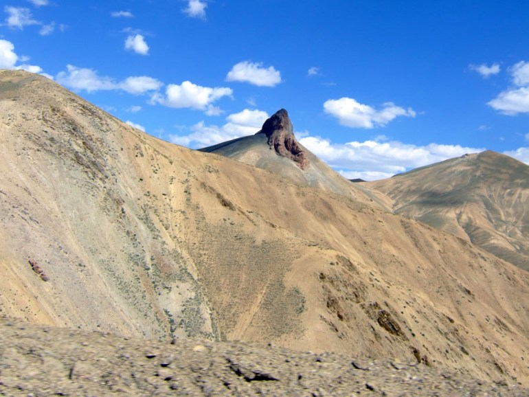 Ladakh - Mountain ganesha
