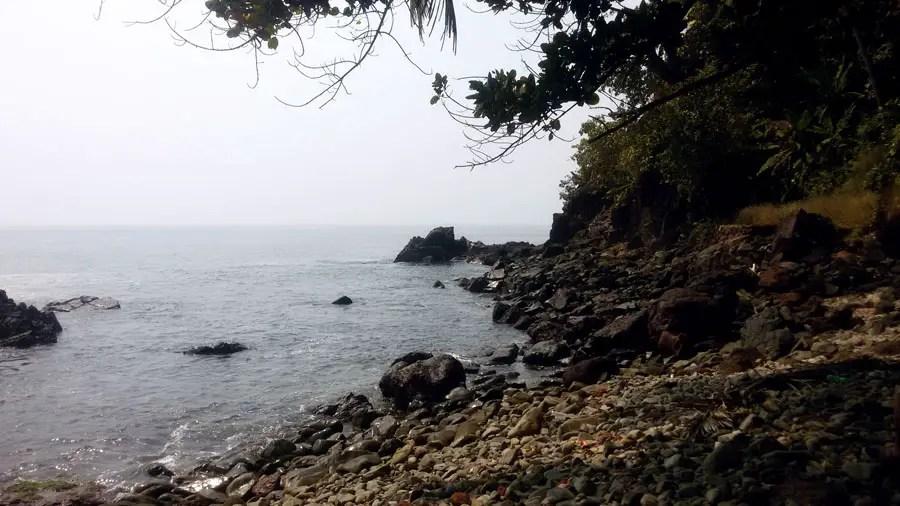 Agonda - Cabo de Rama - Rocky cove 1 - perfect base for a Goa trip