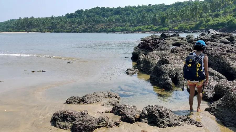 Agonda - nearby beaches -Galgibaga rocks - perfect base for a Goa trip