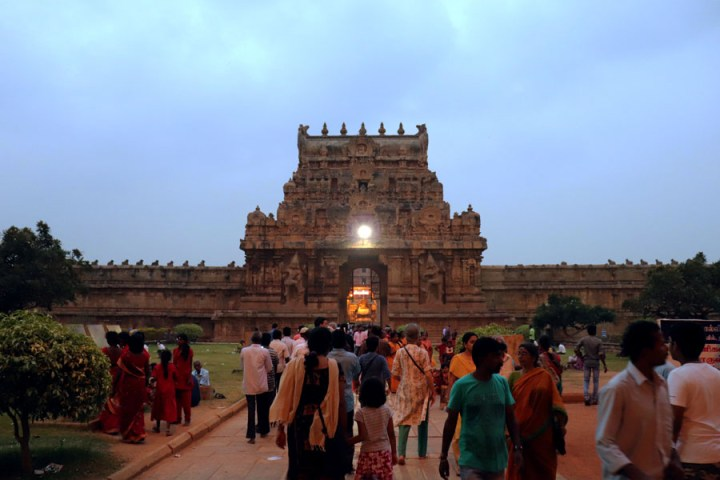Thanjavur - inner gopuram - Temples of Madurai and Thanjavur