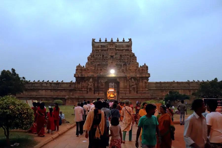 Thanjavur - inner gopuram - Temples of Madurai and Thanjavur
