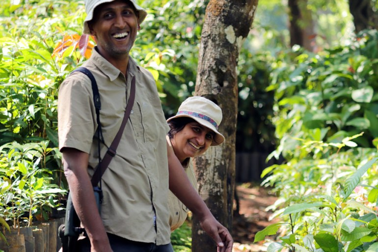 Valparai - Sridhar and Divya - In the shadow of elephants in Valparai