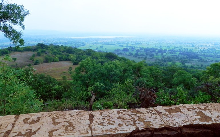 View from Ananthagiri Hills, Vikarabad, India