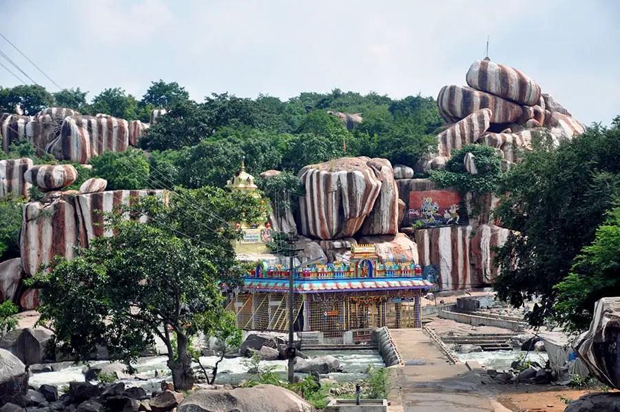 Edupayala temple, Medak, Telangana, India