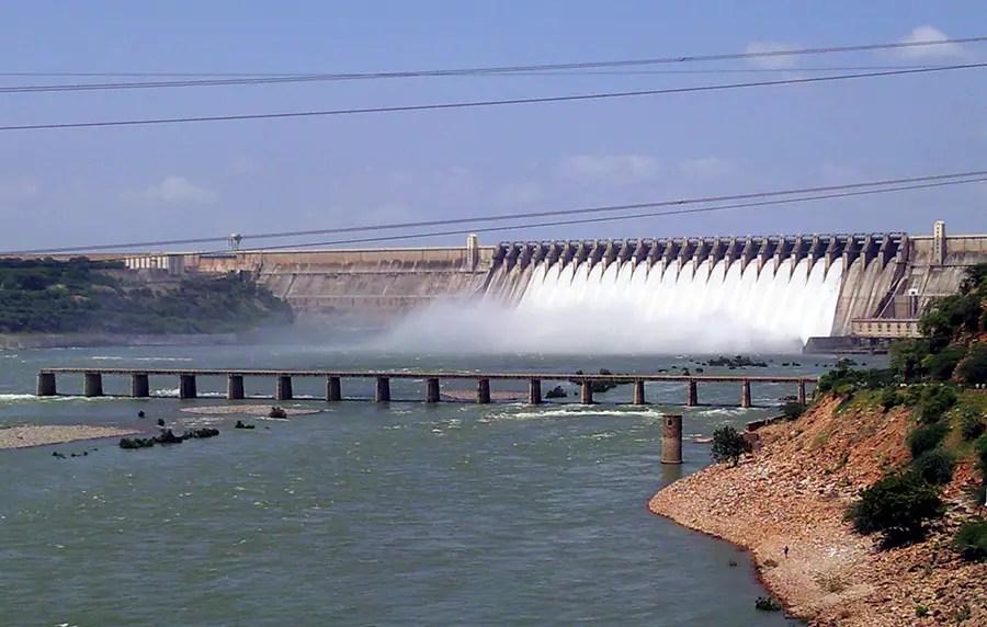 Great road trips from Hyderabad - Nagarjuna Sagar dam, Telangana, India