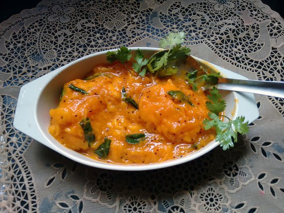 Menaskai - spice sweet and sour curry - Mangalore, Karnataka